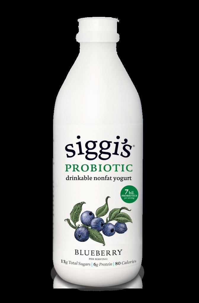 Blueberry Drinkable Nonfat Yogurt